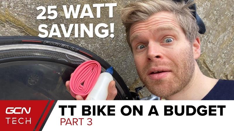 25 Watt Savings Faster Time Trial Tyres TT Bike On A Budget Part 3