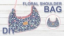 DIY sweet shoulder bag 호보백 가방 만들기 Floral round Hobo Bag making sewingtimes