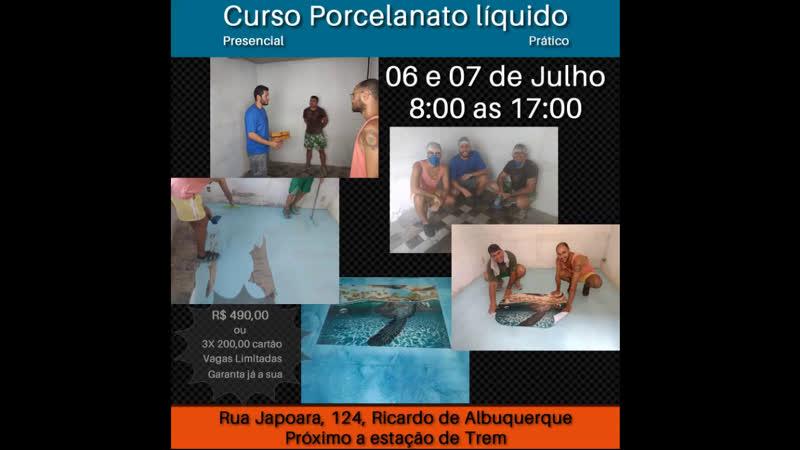 Curso Porcelanato Liquido