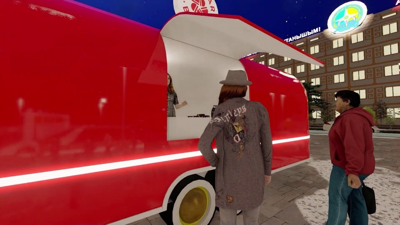 Атырау Исатай Махамбет алаңы Red star burger