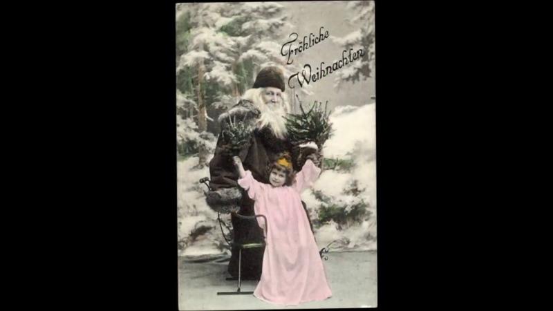 Nikolaustag - Hans Mühlhofer - Des heiligen Niklas Weihnachtsgruß - 1928