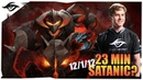 23 MIN SATANIC Secret Zai Chaos Knight Ranked Gameplay | DotA 2