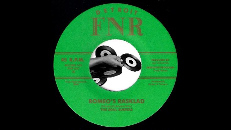 The Soul Surfers Romeo's Rasklad Funk Night 2013 Russian Funk 45