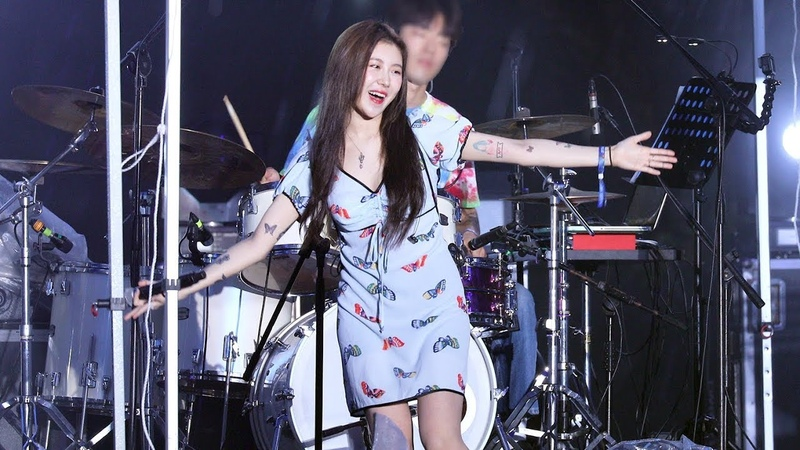 190727 백예린 Baek Yerin Full ver 새로운 미발매곡 Best part Sincerity is scary 외 6곡 4K 직캠 by 비몽