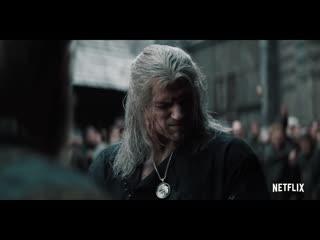 Ведьмак - Русский трейлер #2 (Дубляж, 1-й сезон)  Сериал 2019 (Netflix)