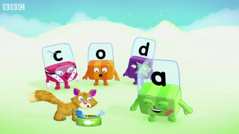Alphablocks - Red Level One _ Full Episodes 7-9 _ HomeSchooling _ Learn to Read