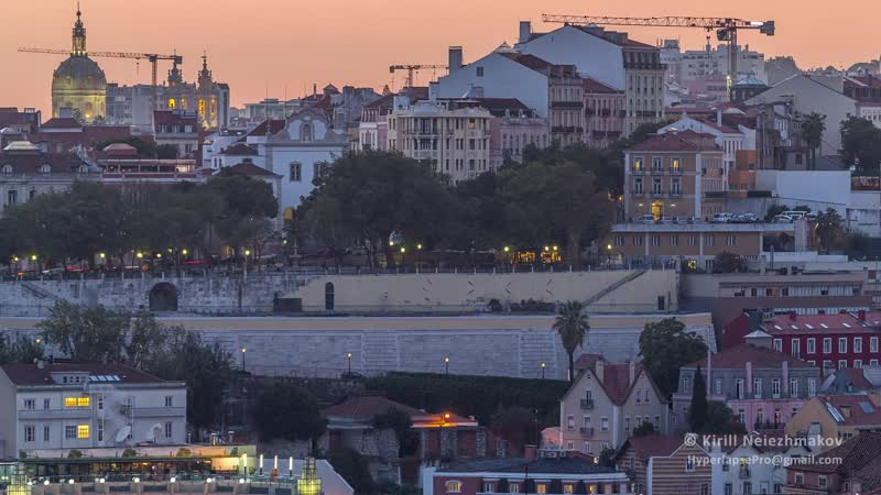 SoundDesign Magical Places in Lisbon Timelapse Hyperlapse