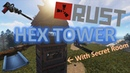 Rust Hex Tower Base with Secret Room