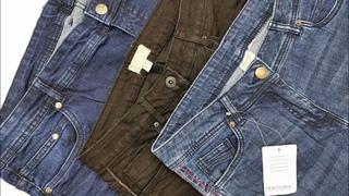 Мужские/женские джинсы. Сток. LIDL. Лот 600( 7,2 /13 шт.) Цена 15 евро/кг. с-с 776 руб.