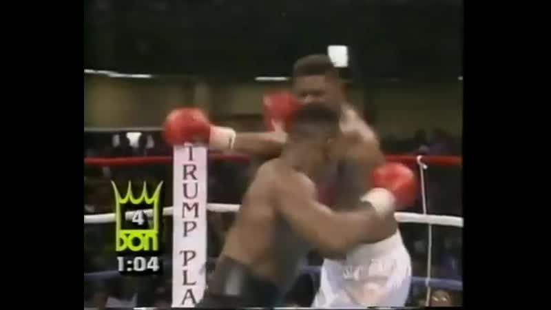 38_Майк Тайсон - Mike Tyson vs Tyrell Biggs (1987.10.16)