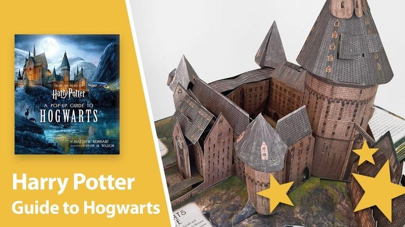 Harry Potter A Pop-Up Guide to Hogwarts by Matthew Reinhart