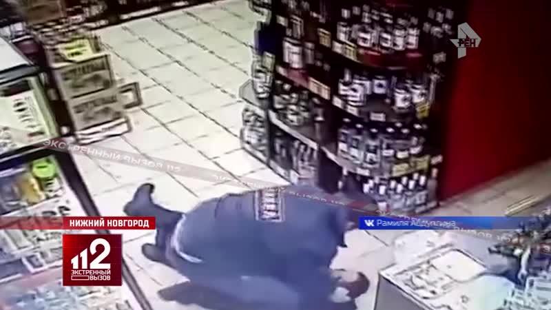 ЧОПовцы просто избили покупателя...