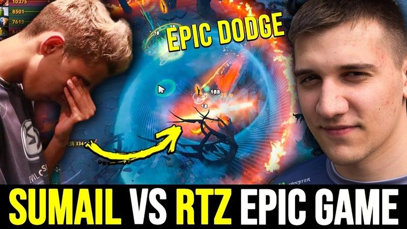 SUMAIL vs ARTEEZY - GODLIKE vs GODLIKE Epic Dodge Dota 2