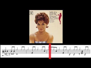 Blues N.2 (Miles Davis) Philly Joe Jones FULL TRANSCRIPTION