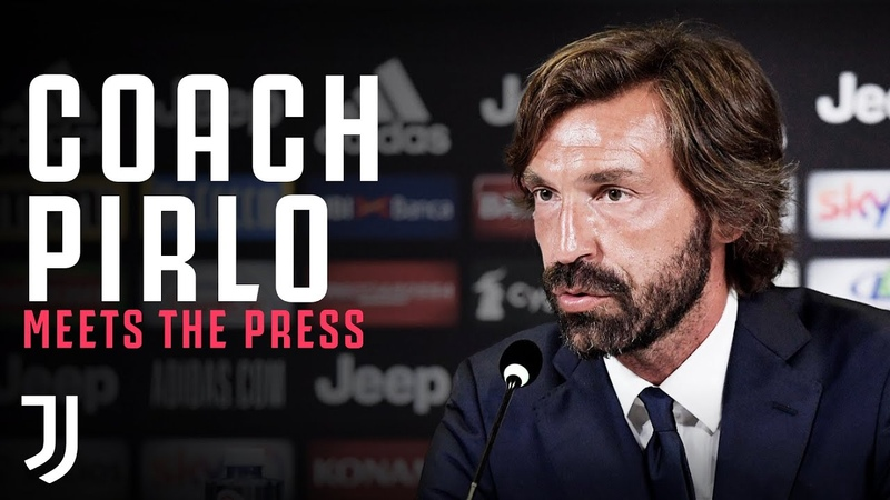 COACH PIRLO Andrea Pirlo meets the press as new Juventus U23 Coach Press Conference