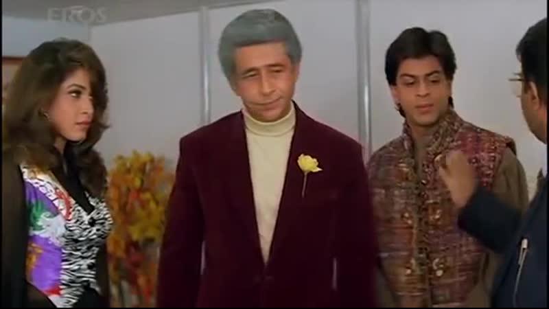 Страстная любовь (1996) Chaahat - Насируддин Шах, Шах Рукх Кхан, Пуджа Бхатт, Анупам Кхер, Рамья Кришна