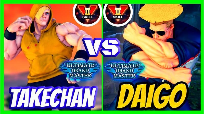 SFV CE Daigo Guile VS Takechan ED