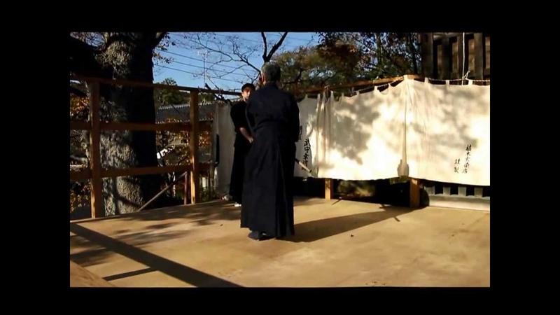 真壁杖道会奉納演武 2013 11 23 「神道夢想流杖術」
