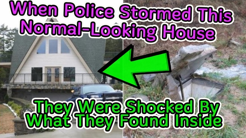 When Police Stormed This Normal Looking House They Were Shocked By What They Found Inside