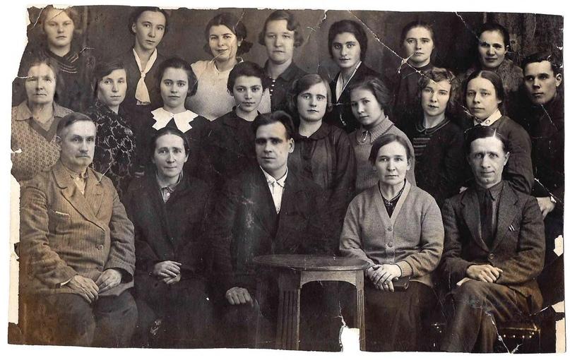 Сотрудники Научной библиотеки библиотеки им. Лобачевского КГУ
