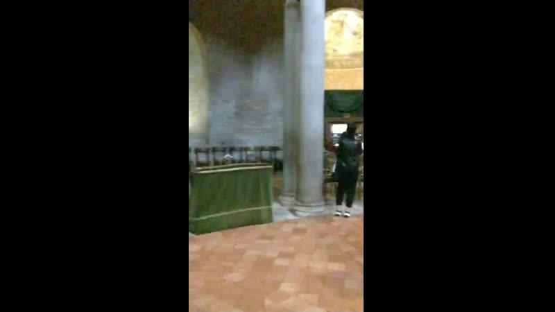 Органная музыка мавзолей базилика Святой Констанции Рим