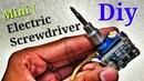 Mini Electric Screwdriver with $2 9G Servo !