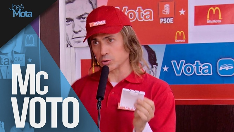 McVoto: ¿a quién desea votar? | José Mota