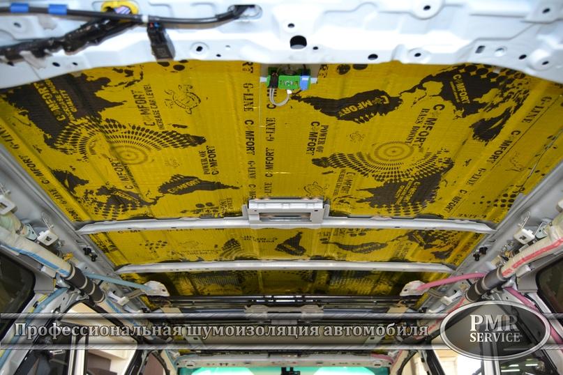 Комплексная шумоизоляция Toyota Land Cruiser 200, изображение №3