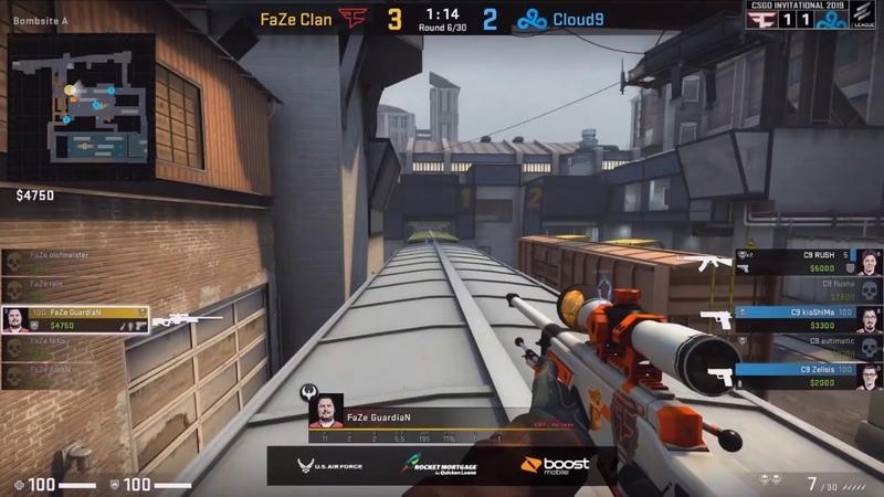 Sosat Blyat GuardiaN Ace FaZe vs Cloud9 ELEAGUE CS:GO Invitational 2019