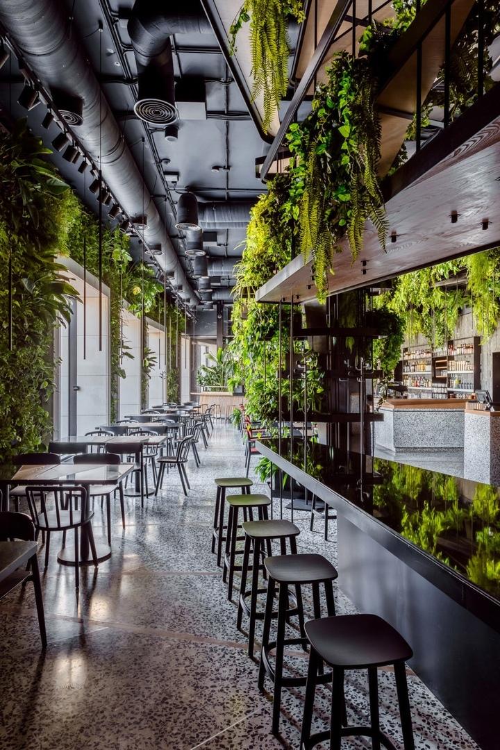 Ресторан-оранжерея по проекту Максима Рымаря в Краснодаре