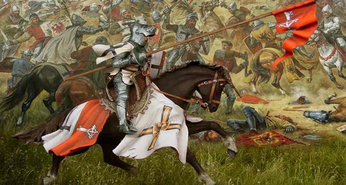 Крестоносцы при Грюнвальде
