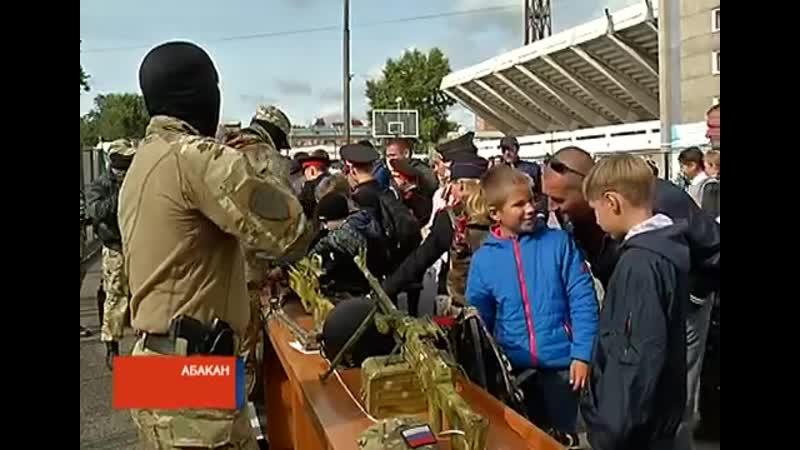 РТС Новости В Абакане прошел военно спортивный праздник