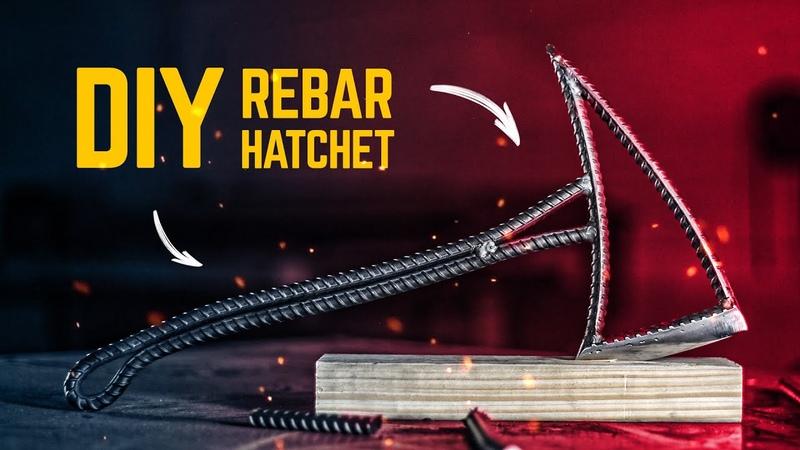 DIY Rebar Hatchet