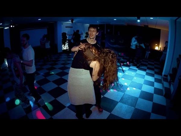 Party in White Rabbit Michail Pon'kin Mary Chikina Zouk improvisation
