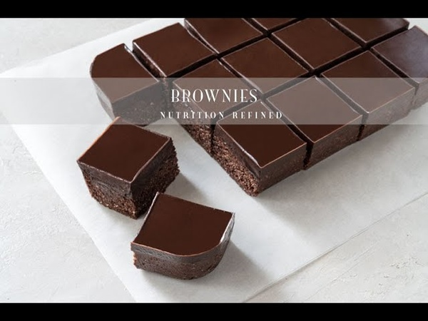 Raw Brownies Vegan Paleo Keto Oil Free and Nut Free options