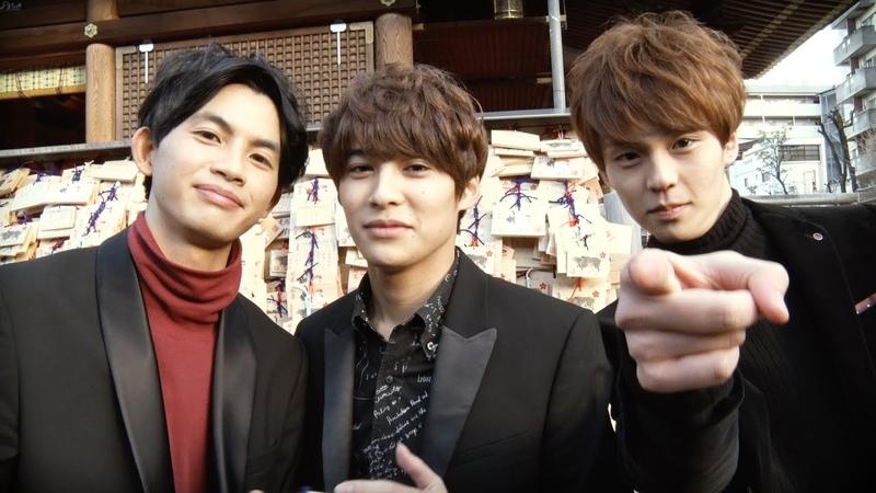 EBiSSH TV 9 / 2017.1.12 「キットカット 受験生応援キャンペーン 湯島天満宮 合格祈願絵3