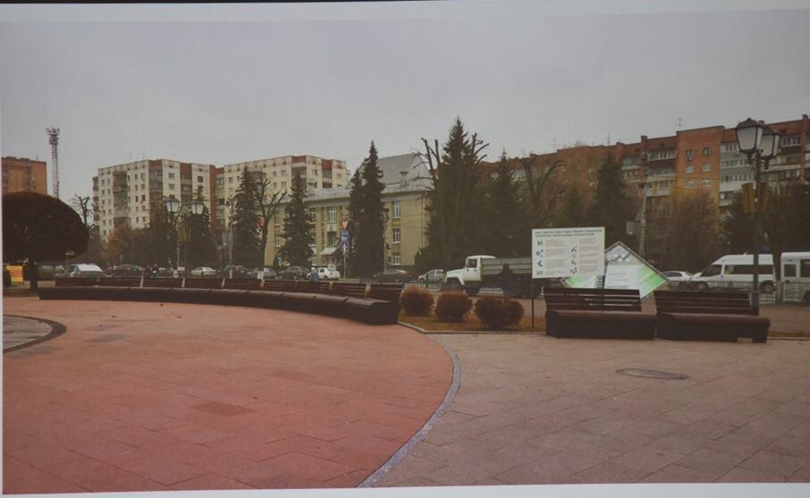 В мэрии показали окончательный вариант благоустройства Театральной площади в Курске