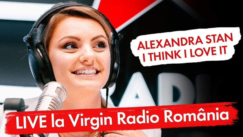 Alexandra Stan - I Think I Love It - (LIVE @Virgin Radio Romania)