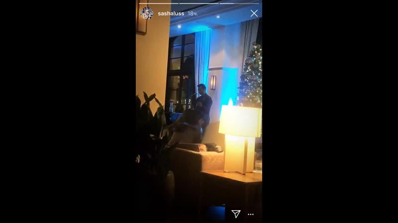 Видео из Instagram Stories Саши Лусс Sasha Luss