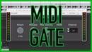 MIDI Triggered Gate JSFX for REAPER