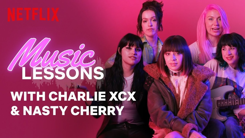Music Tips from Charli XCX and Nasty Cherry | Music Lessons | Netflix