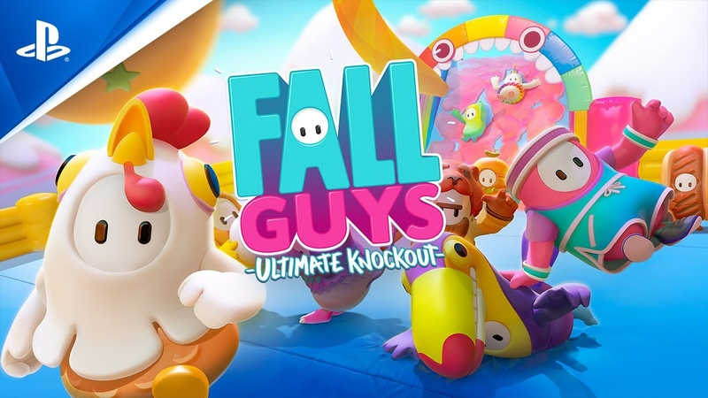 Fall Guys Release Date Trailer PS4