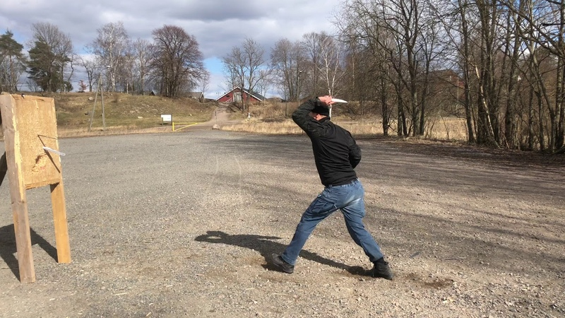 Finnish Spring Calling A Knife Thrower
