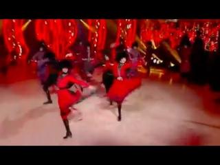 ансамбль Грузии СУХИШВИЛИ - танец Джута ()