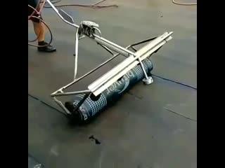 Высокие технологии () - Работа с крышей.
