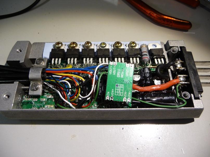 Контроллер встроенный в платформу корпуса Hailong