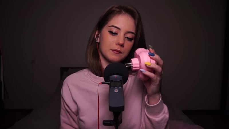 Belochka ASMR АСМР Нежно розовые МУРАШКИ для крепкого сна ASMR pink tingle for sound sleep