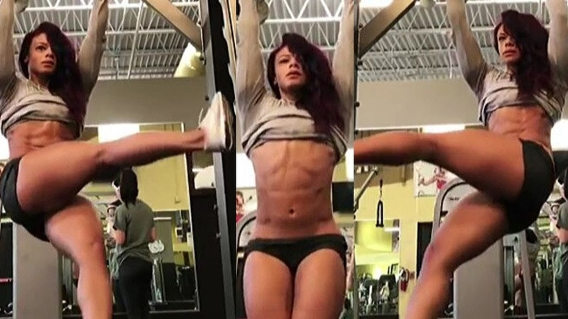 Best Female Abs Workout | FBB Presents JUST Female abs RIPPED SHREDDED Girls abs! P-6