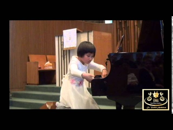 RMA Student Celine Wang Plays Birds No 1 2 3 4 5 8 By Seymour Bernstein