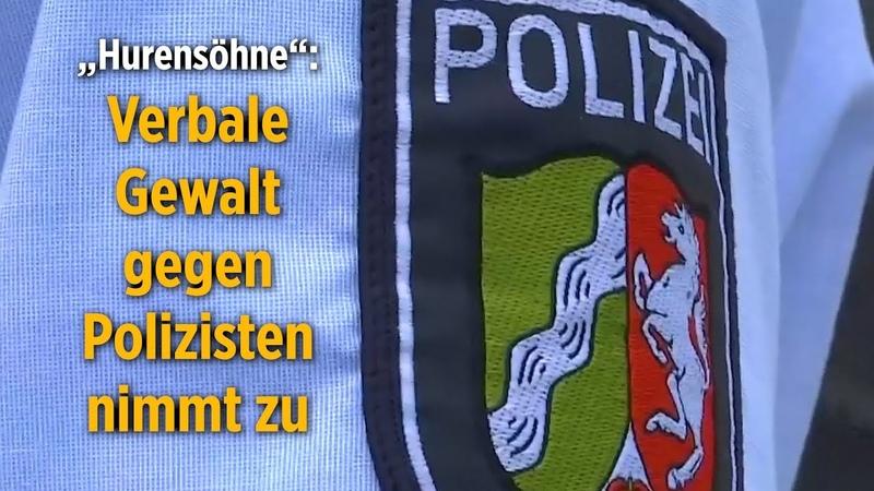 NRW Verbale Gewalt gegen Polizisten nimmt zu